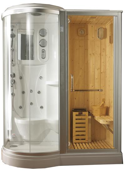 Cabinas Hidromasaje Sauna Artica Sauna Danubio - Cabina-sauna