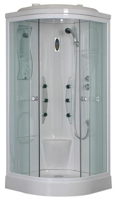 Cabinas hidromasaje angulares 1 4 c toscana for Cabina de ducha easy