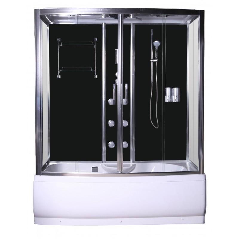 Ba eras rectangulares combinado cabina ba era selena - Cabina ducha rectangular ...