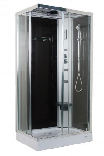 O2xa atrio columnas y cabinas hidromasaje ba eras - Cabina ducha rectangular ...