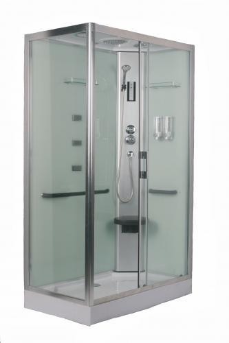 O2xa atrio columnas y cabinas hidromasaje ba eras mamparas - Cabina ducha rectangular ...